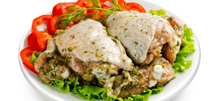 Шашлык куриный Бедро в маринаде