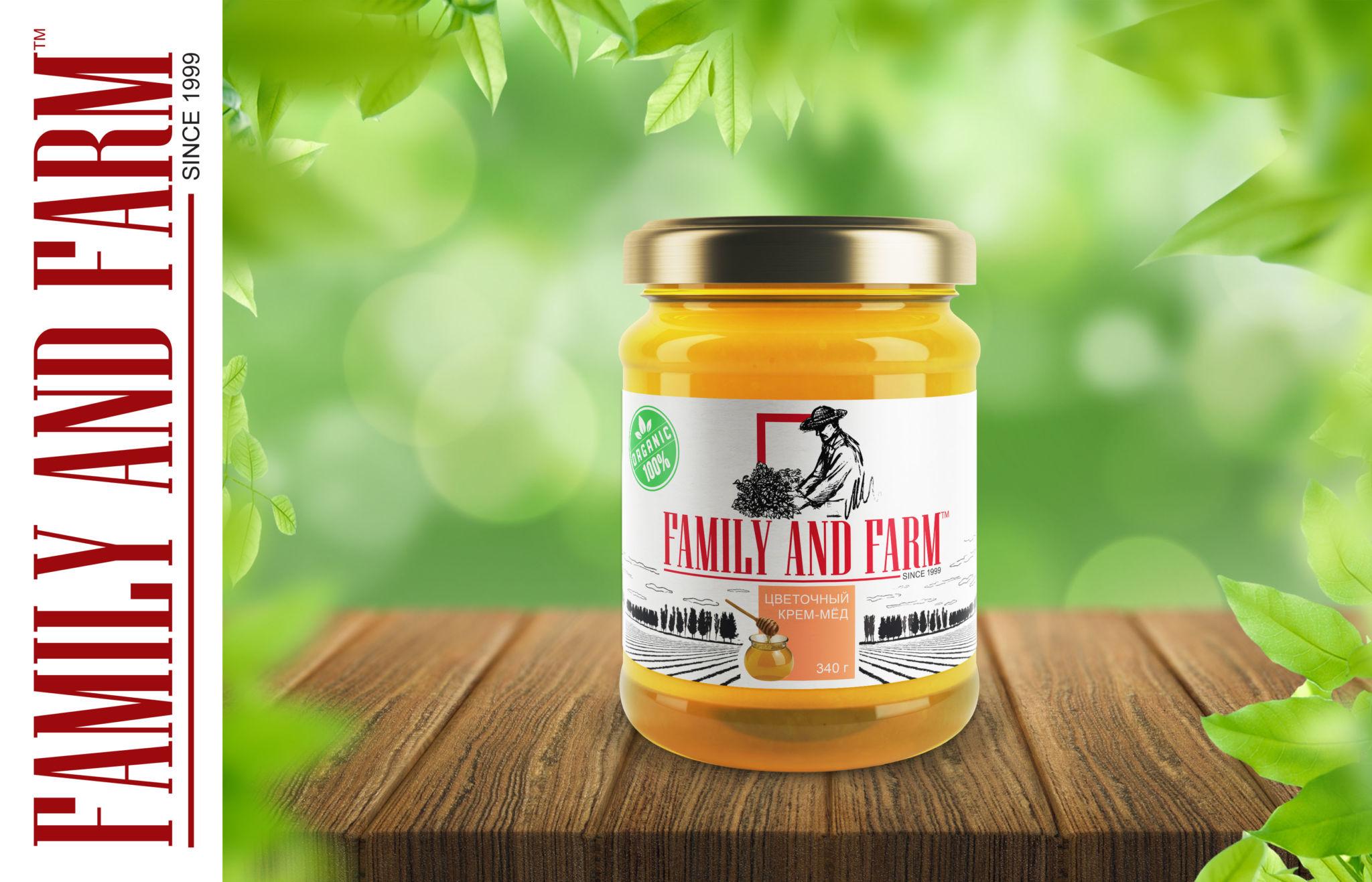 Цветочный крем-мёд