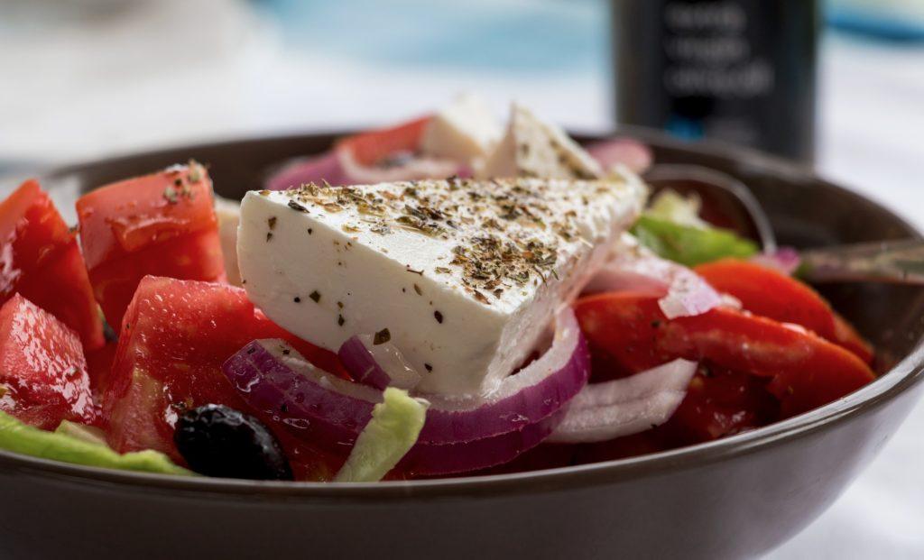 натуральный греческий салат