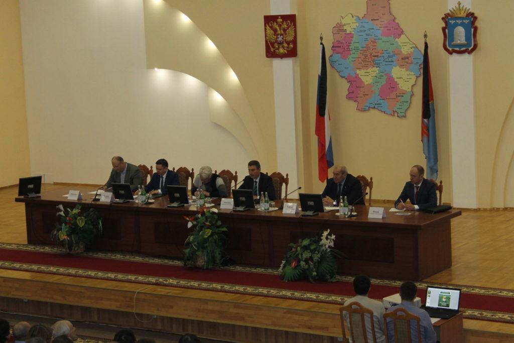Агрономическое совещание в Тамбовской области