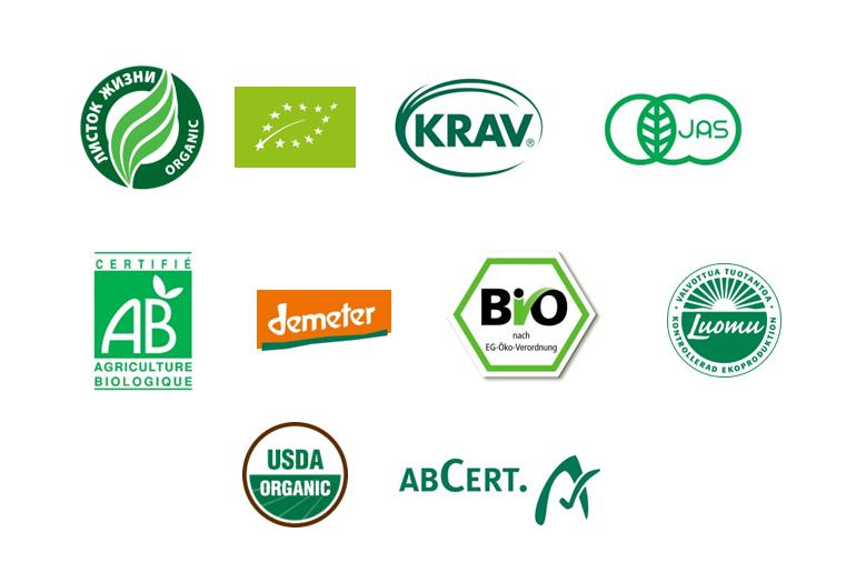 Органические маркировки продукции