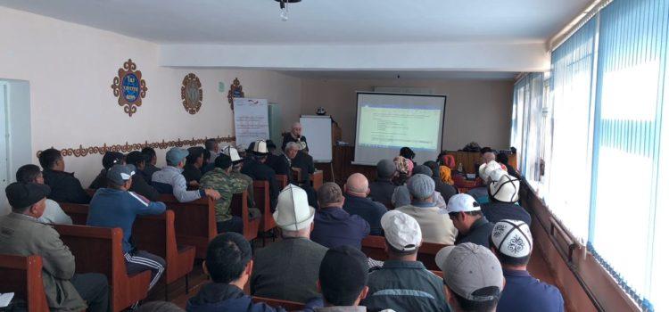 Встреча с фермерскими кооперативами (GIZ)