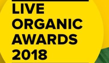 До торжественной церемонии Live Organic Awards осталось меньше двух недель