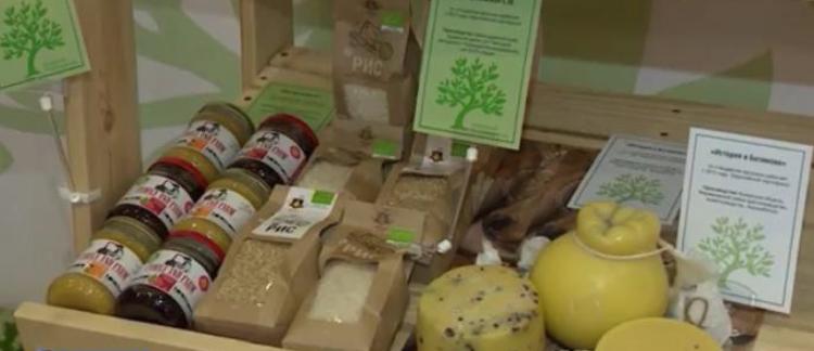 органические продукты на выставке