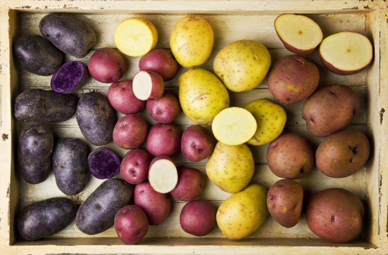 Органическая картошка